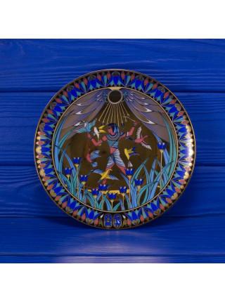 "Тарелка Royal Worcester ""Tutankhamun Hunting Birds"""