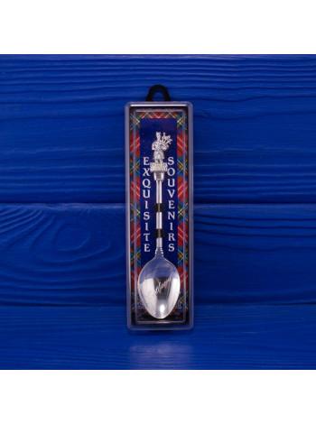 Ложечка с объемной фигуркой волынщика от Exquisite