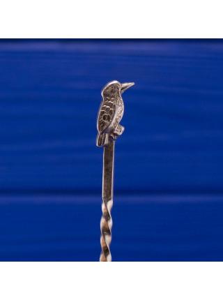 Ложечка с птицей