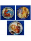Комплект тарелок от Anna Perenna серии The Byzantine Triptych (связь мировых религий)