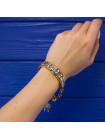 Винтажный браслет, выполненный в стиле дамаскин