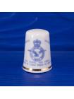 Коллекционный наперсток из костяного фарфора, выпущен в 1993 году к 75-летию Британских воздушно-военных сил