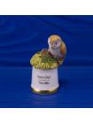 Наперсток Barn Owl (Сипуха обыкновенная) из коллекционной серии The Birds of Britain от Sutherland
