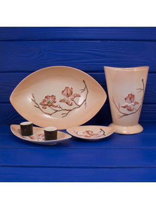 Комплект Carlton Ware MAGNOLIA (розовая)