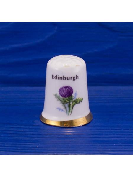 Винтажный фарфоровый наперсток с чертополохом от Balfour