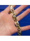 Винтажный браслет, выполненный в стиле дамаскин 1970 гг