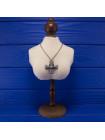 Эффектная винтажная дизайнерская подвеска в кельтском стиле в форме креста от Miracle