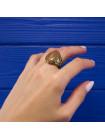 Эффектное кольцо в винтажном стиле