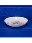 Винтажное фарфоровое блюдце с журавлем дизайна Kutani Crane от Wedgwood