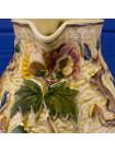 Потрясающей красоты винтажный кувшин с объемным богатым рисунком, расписанным вручную дизайна Indian Tree от Tony Wood