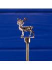Очаровательная посеребренная ложечка Exquisite с оленем, в оригинальной коробочке из Шотландии