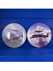 Тарелка Coalport № 4490B Return to Base с сертификатом и брошюрой