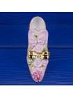 Удивительной красоты фарфоровая туфелька Regal