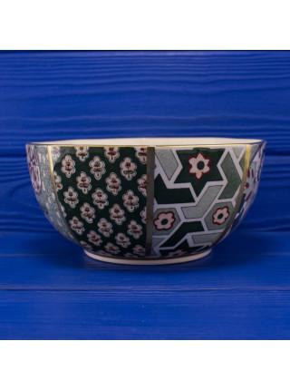 Винтажная коллекционная чаша дизайна Applique от Mason s, ручной росписи