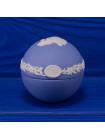 Шкатулка Wedgwood в форме яйца с совой 1980 года