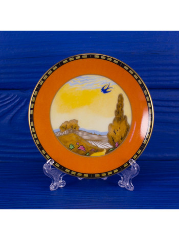 """Тарелка Royal Worcester """"Swallows At Dusk"""""""