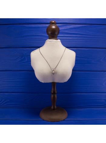 Очаровательная серебряная подвеска в форме ежика