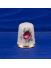 Коллекционный наперсток из костяного фарфора с розами от Lord Nelson