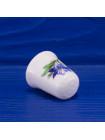 Коллекционный наперсток из костяного фарфора с синими цветами от Radnor