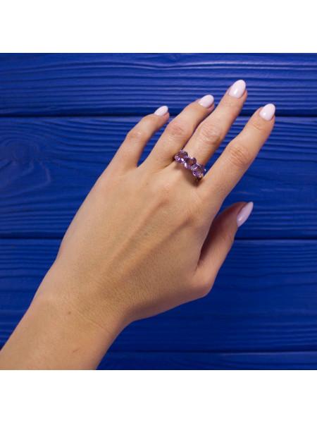 Элегантное серебряное кольцо 925 маркировки