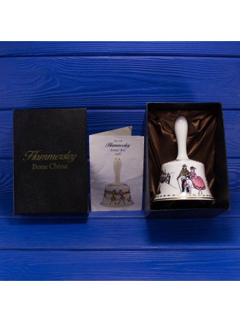Роскошный винтажный колокольчик в оригинальной подарочной коробке от Hammersley 1976 год