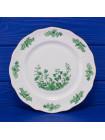 Фарфоровая тарелка, декорированная вручную, дизайна Cottage Green от Aynsley