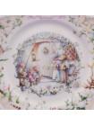 "Тарелка ""The Carol Singers"" от Royal Albert ""Ветер в ивах"""