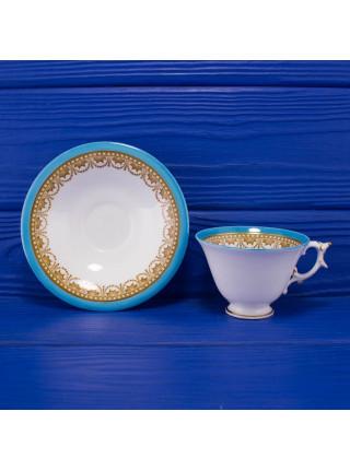 Антикварные трио из чайных пар Royal China Works Worcester