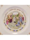 "Тарелка Royal Doulton ""Bunnykins celebrate your Christening"""
