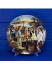 Тарелка Samstag № А-2339 из коллекционной серии Die Ferienwoche der Familie Kappelmann