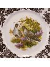 Тарелка с изображением птиц серии Game Series  от Palissy