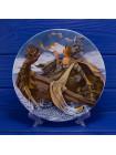 Тарелка The Longton Crown Pottery N2332E The Man of Law s Tale (Рассказ о человеке закона) серии Кентерберийские рассказы