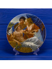 Тарелка The Longton Crown Pottery N2230С The Knight s Tale (Рассказ Рыцаря) серии Кентерберийские рассказы