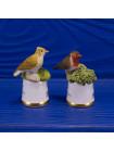 """Пара наперстков """"Skylark и Robin"""" из коллекционной серии BIRDS of BRITAIN от Sutherland"""