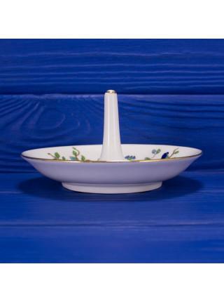 Блюдце для украшений со стержнем для колец дизайна Pembroke от Aynsley