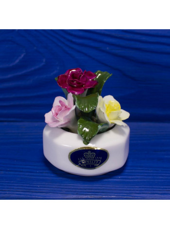 """Фарфоровые цветы от Aynsley """"Цветочная клумба"""""""