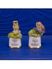 "Пара наперстков ""Little Owl и Barn Owl"" серии BIRDS of BRITAIN от Sutherland"