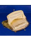 Антикварная сумочка 1900-х годов, выполненная в технике кольчужного плетения