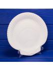 Роскошная винтажная тарелка - белоснежный фарфор в форме морской раковины от Wedgwood