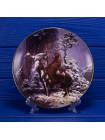 Тарелка Hamilton Collection № 5704A Mystic Warrior серии Mystic Warriors