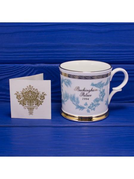 Кружка для чая из Букингемского Дворца в оригинальной коробочке - 1994 год
