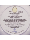 """Тарелка Furstenberg номер D 828 """"In der Waldlichtung""""⠀"""