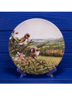 Тарелка Royal Doulton № 5502A Bright and Early серии Treasures of the Morning