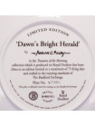 Тарелка Royal Doulton № 4773C Dawns Bright Herald серии Treasures of the Morning
