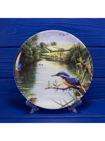 """Тарелка Wedgwood """"Country Waters - The Kingfisher"""""""