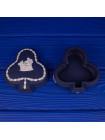 """Шкатулка Wedgwood """"Крести"""" редкого темно-синего цвета из коллекционной серии Карточные Масти"""