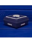 """Шкатулка Wedgwood """"Буби"""" редкого темно-синего цвета из коллекционной серии Карточные Масти"""