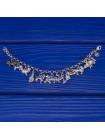 Серебряный браслет с чармами в форме животных, символизирующих 12 китайских знаков зодиака