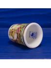 Коллекционный наперсток с изображением сони-полчок, грызуна, похожего на мышку или белку, лакомящуюся орехами и ягодами