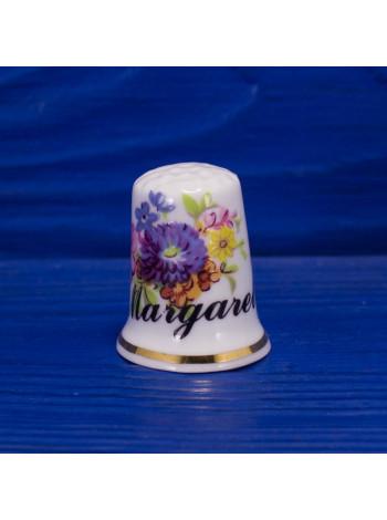 Коллекционный наперсток Margaret